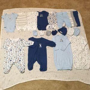 Baby Boy 20-Piece Matching Set